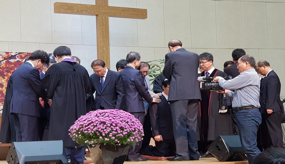 성일교회 임직 감사예배 및 임직식