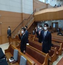 서울강남노회, 제92회 정기회 열어 회무 처리 후 목사임직 및 강도사 인허식 가져